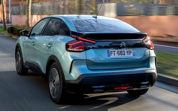Novo Citroën Ë-C4 elétrico já tem 15% das vendas do C4 na Europa